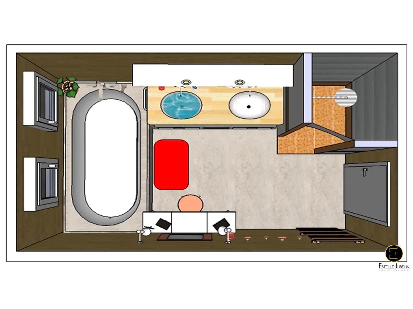 R novation salle de bain douche montbr 51 estelle for Transformation salle de bain