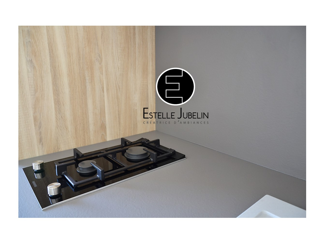 Conception d 39 une cuisine contemporaine b theny estelle for Cuisine conception