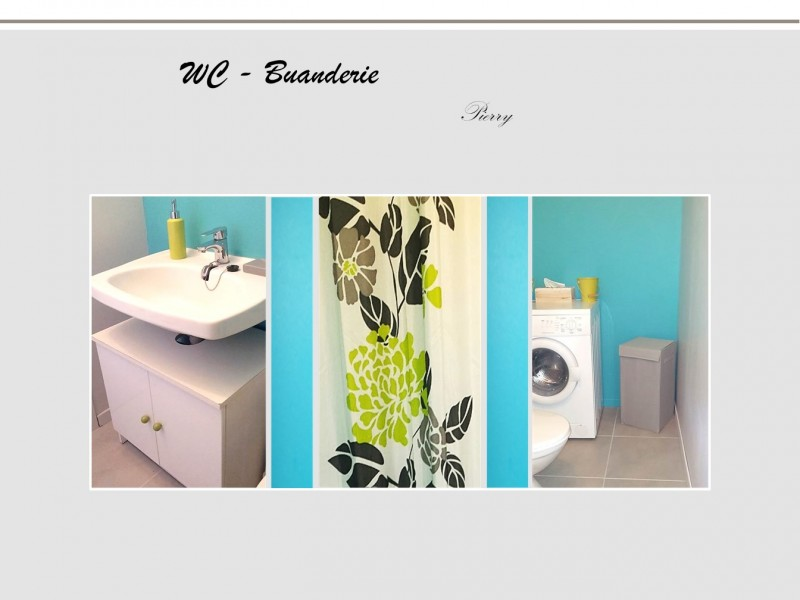 Home Staging – WC & Buanderie – Epernay