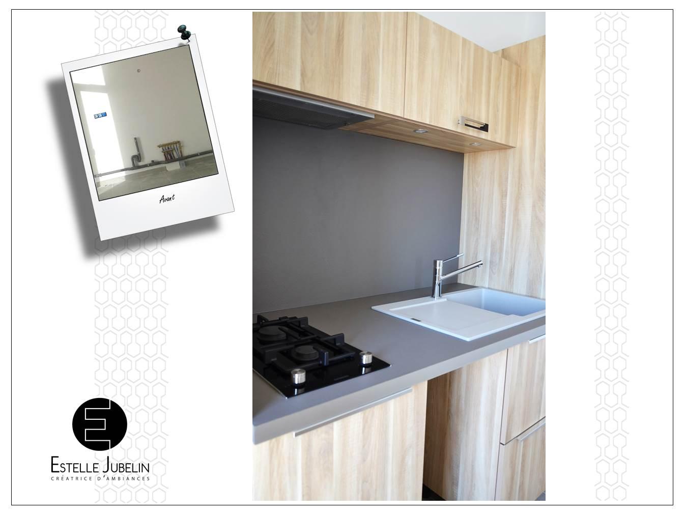 Conception d 39 une cuisine contemporaine ouverte sur le for Creer une cuisine ouverte