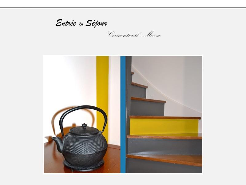 Conception – Aménagement – Design   Entrée & Séjour ouvert à Cormontreuil